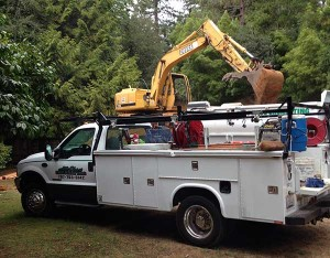 Excavating Service Truck Santa Rosa